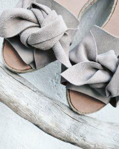 dirty grey espadrilles